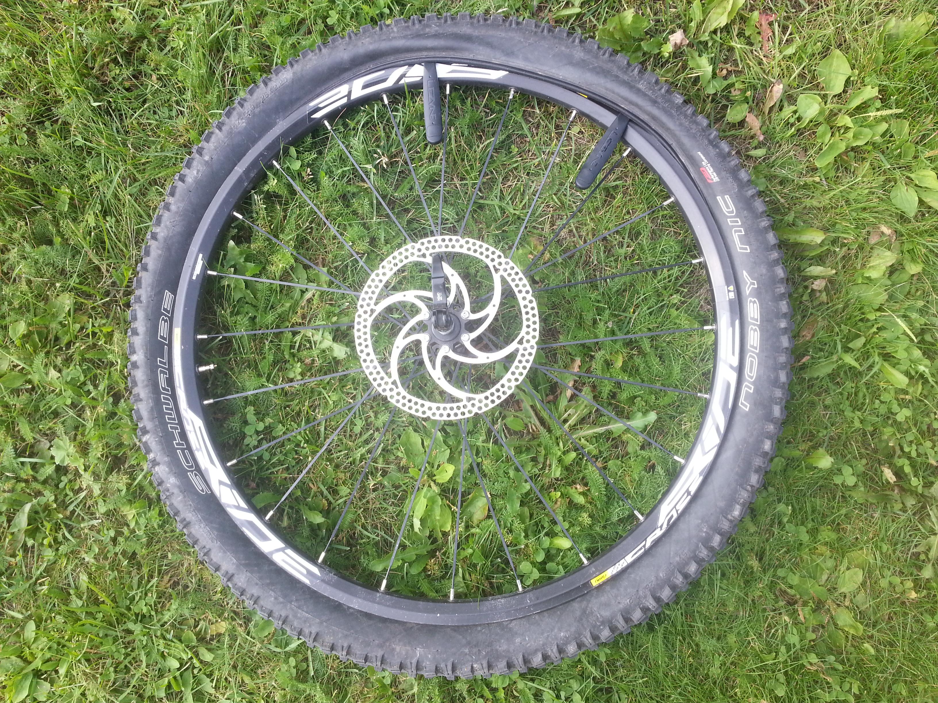 hybridipyörän rungon koko